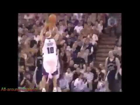 Point Guard Duel: Mike Bibby vs Jason Williams 2004-05