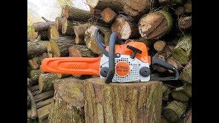 chainsaw stihl MS180. 2018