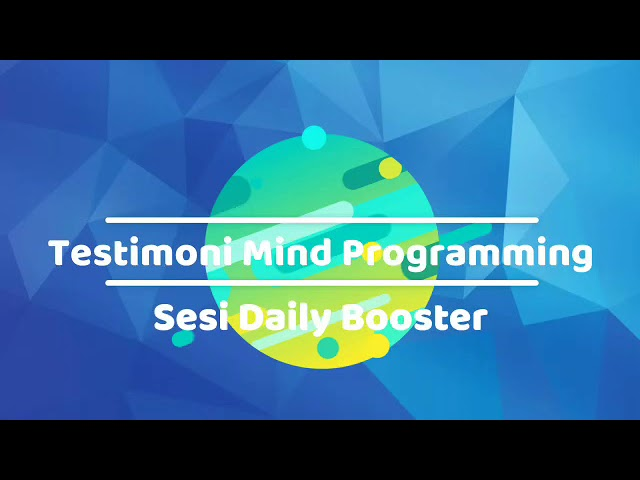 Mind Programming Daily Booster