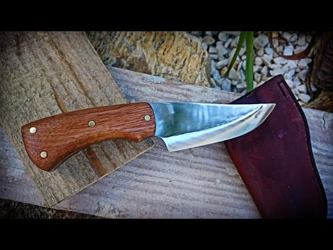 Knife Making - Handmade Skinner Knife - M2 Facas