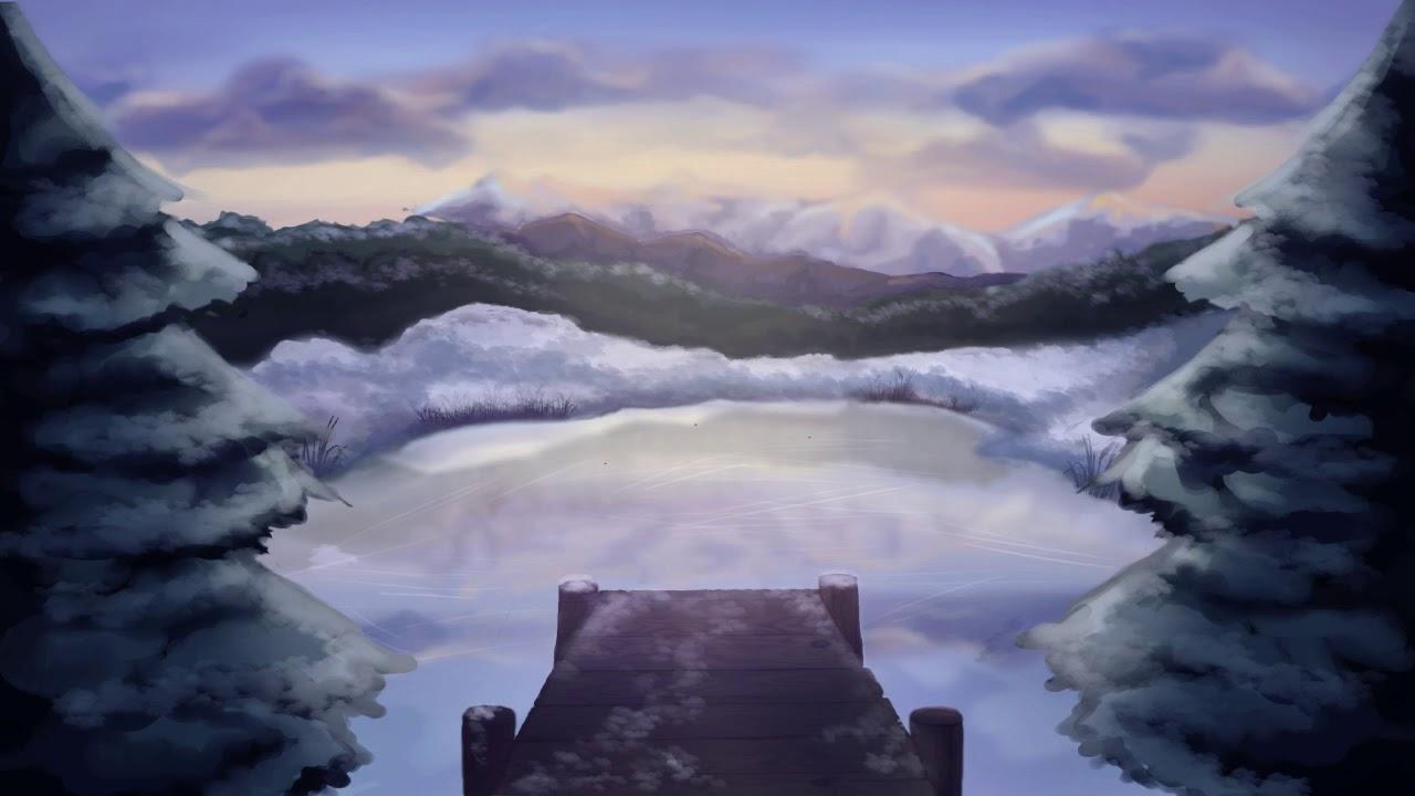 [Hörkurzgeschichte] Die blauen Schneeflocken
