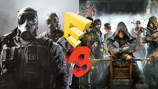 50 лучших игр E3 2015. Часть 3 (Just Cause 3, Rainbow Six: Siege, Assassin's Creed: Syndicate и др.)