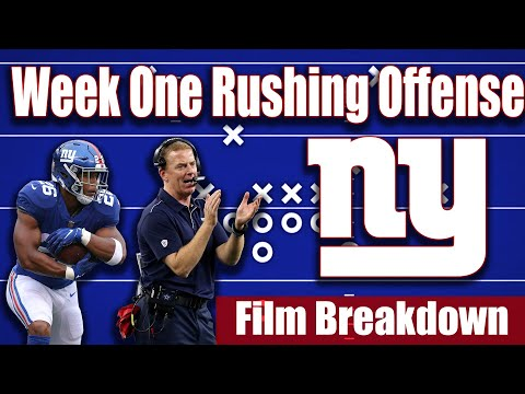 NY Giants: How to maximize Giants 13 personnel in the run Game