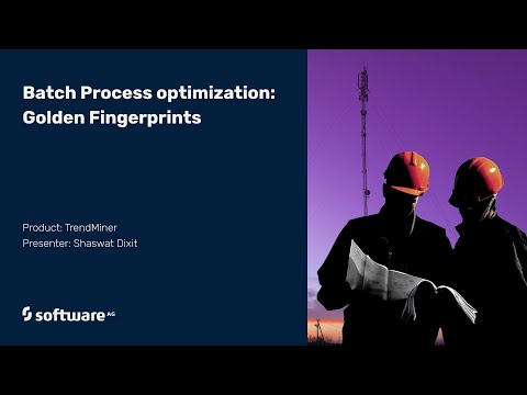 Batch Process Optimization: Golden Fingerprints