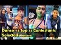 Dance Plus 3 TOP 12 Contestants Meet the Iconic Dancers