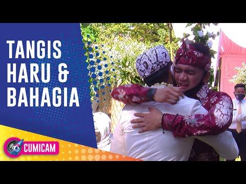 Tangis Haru Ridho Di Pernikahan Saudara Kembarnya Rizky - Cumicam