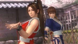 DOA 5 Last Round PC Mai Shiranui and Kasumi Tag Team