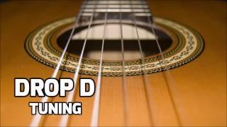 drop d tuning  online guitar tuner