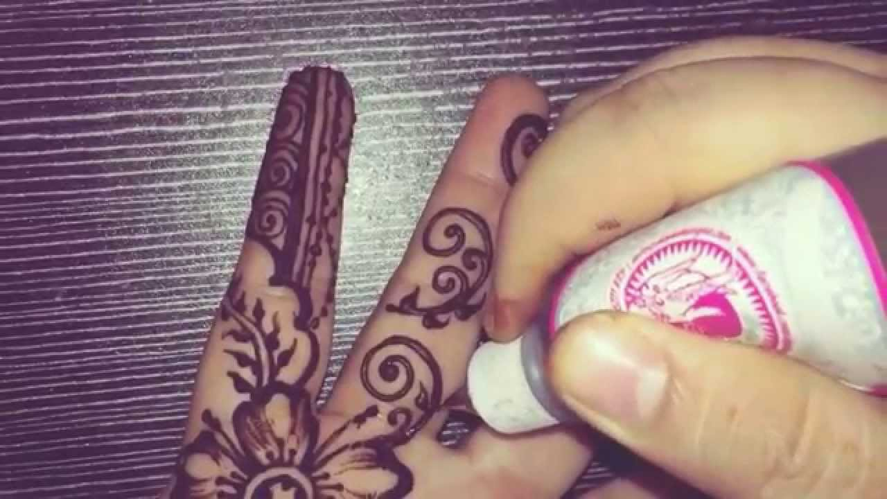 How To Draw Unique Henna Lukis Corak Inai Yang Unik Youtube
