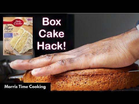 RUM & RAISIN CARROT CAKE |  Box Cake Hack | Lesson #130 | Morris Time Cooking
