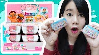 อ่างอาบน้ำเซอร์ไพรส์ !! ลุ้นเด็กทารกจิ๋ว~ แพมเพิสเปลี่ยนสีได้ ??【 Baby Secrets 】