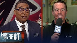 Matt Ryan on how to prepare for the Patriots, talks Falcons' future | NFL | FIRST THINGS FIRST