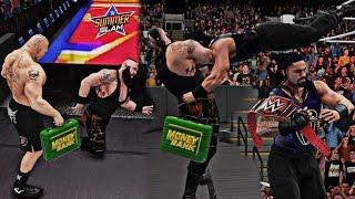 Roman Reigns Wins The Universal Championship at Summerslam 2018 vs Brock Lesnar (WWE 2K18)