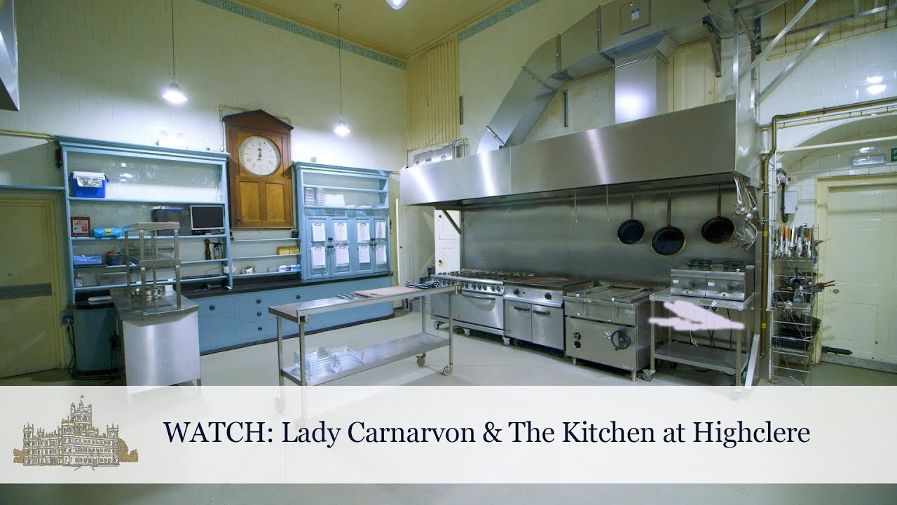 Lady Carnarvon & The Kitchen at Highclere - YouTube