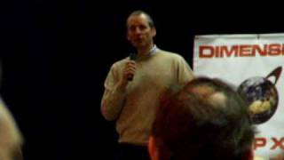 Dimension Jump XV 2009 Chris Barrie Q&A