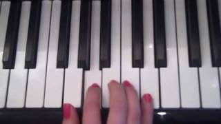 How to play - Bring me to life - Evanescence - on piano - pianolesson - gratismuziekschool