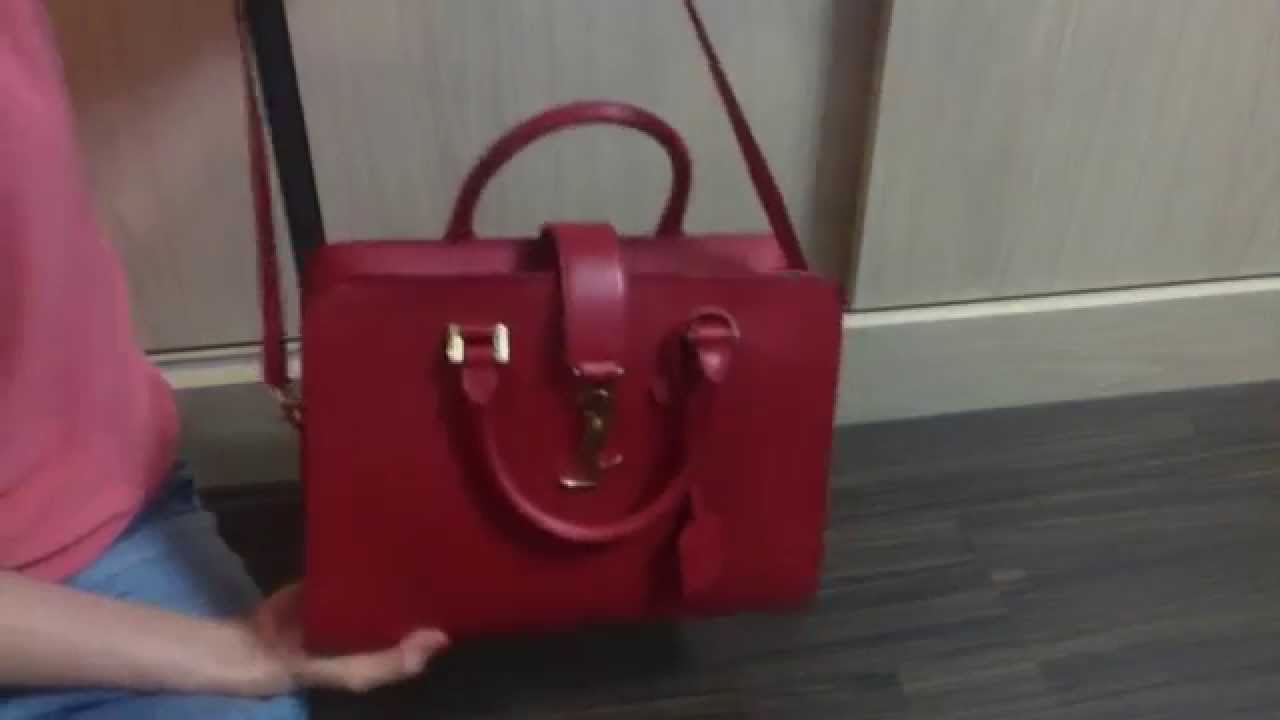 Saint Laurent Monogram Cabas Review - YouTube