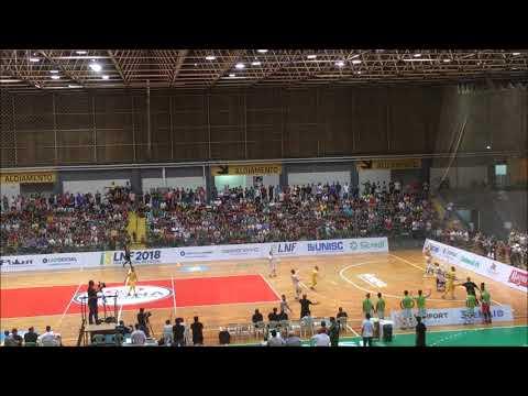Liga Nacional: Blumenau Futsal 1x1 Assoeva