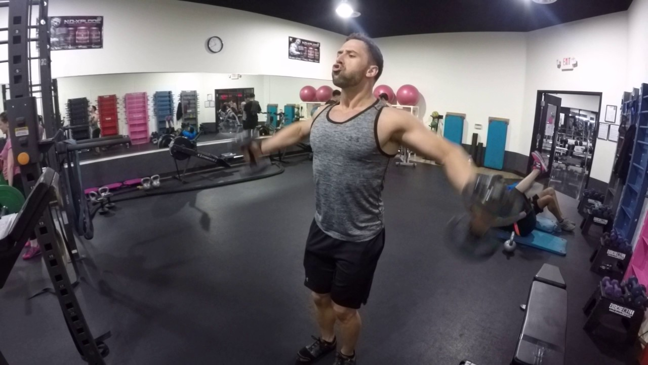 Hammer Grip Bench Press Part - 27: Hammer Grip Lateral Raises