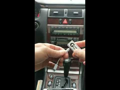 How to play iPhone 7 music through old Mercedes Benz Factory Radio