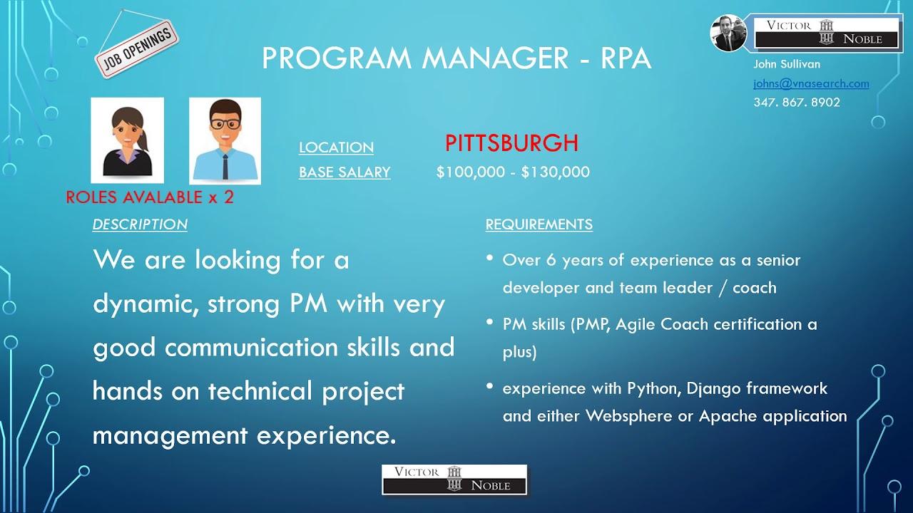Live Jobs Pittsburgh Youtube