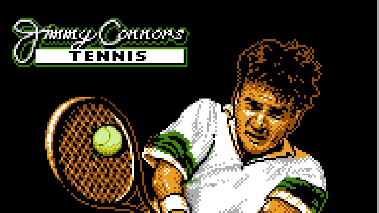Jimmy Connors Pro Tennis Tour NES Gameplay