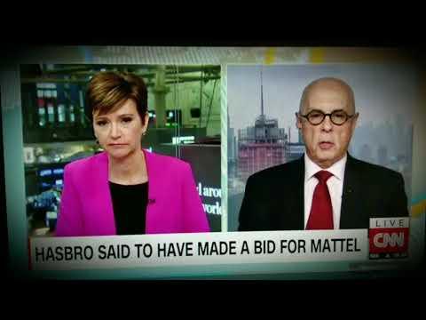 Mattel Shares Soar on Hasbro Takeover Talk - CNN, November 14, 2017