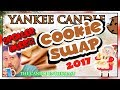 NEW Yankee Candle - SPOILER ALERT  - COOKIE SWAP COLLECTION 2017 Christmas Holiday Haul Review