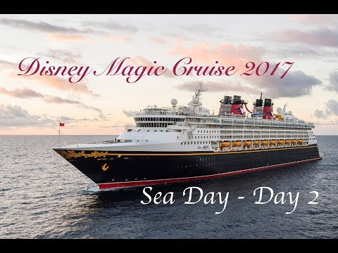 Disney Magic Cruise - 10/7/17 - Sea Day - Day 2