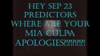 Hey Sep 23 predictors - where are your mia culpa apologies?!?!?!?!?!