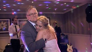 Father of the Bride Dance Wrightington Country Club  first dance video