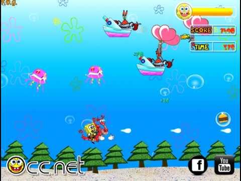 Soaring SpongeBob (Спанч Боб: стрелялки) - прохождение игры