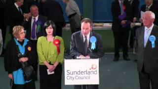 Houghton & Sunderland South election results declared in election 2010