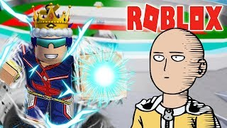 ROBLOX-UPDATE CODE 230K ONE FOR ALL AS SAITAMA 1 INHALATION IS DEAD-(CODE) Boku No Roblox