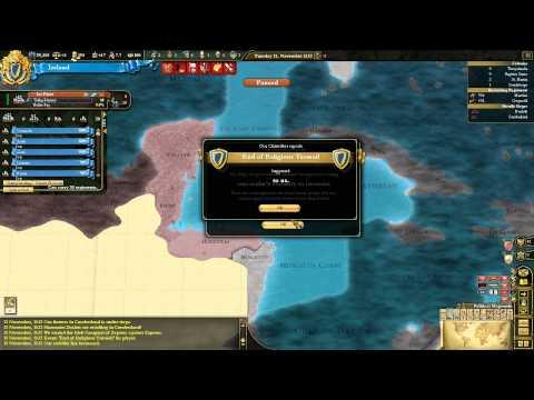Let's Play Europa Universalis III 3 Divine Wind Ireland 07 HD