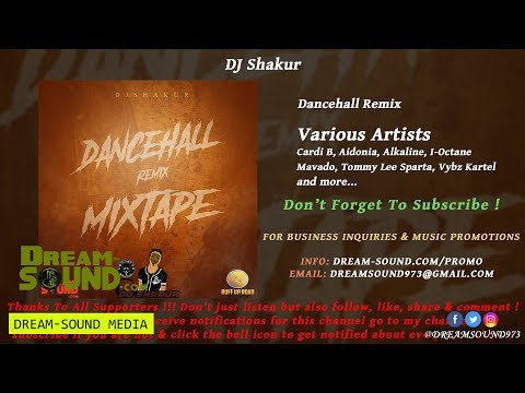 DJ Shakur - Dancehall Remix (Dancehall, Hip-Hop Mixtape 2018)