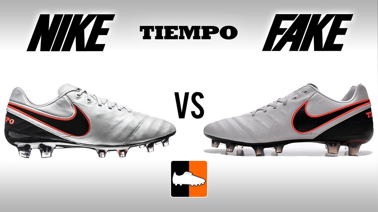 94ea562b7a82 Fake vs. Real Tiempo - How to avoid buying a Replica Nike Legend 6. Football  Boots