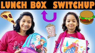 LUNCH Box SWITCH UP Challenge...  #SchoolLife #Fun #Kids #CuteSisters  Cute Sisters