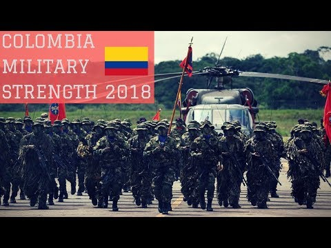 Colombia Military Strength 2018