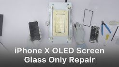 Arduous Demo - iPhone X OLED Screen Glass Only Repair