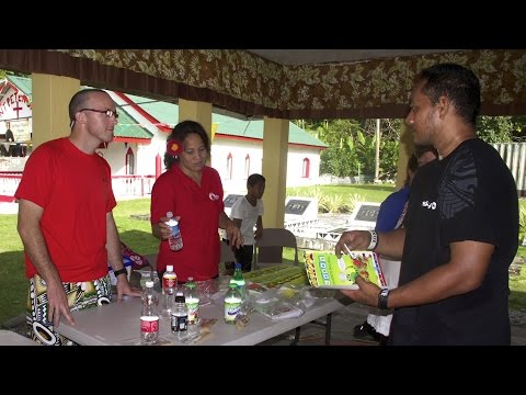 Village Walks in American Samoa: A Childrenʻs Healthy Living intervention activity