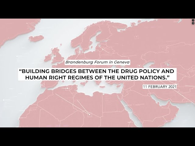 Drug Policy and Human Rights - Helen Clark addresses the 2021 Brandenburg Forum
