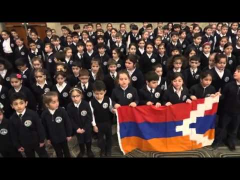 Дети армянской общины Канады передали музыкальный привет бойцам армии Арцаха
