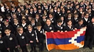 Дети армянской общины Канады передали музыкальный привет бойцам армии Арцаха(Самые маленькие представители армянской общины Канады направили музыкальное приветствие бойцам Армии..., 2016-05-03T11:52:20.000Z)
