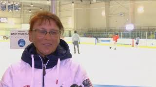 Figure skaters make their anticipated return to Hertz Arena ice