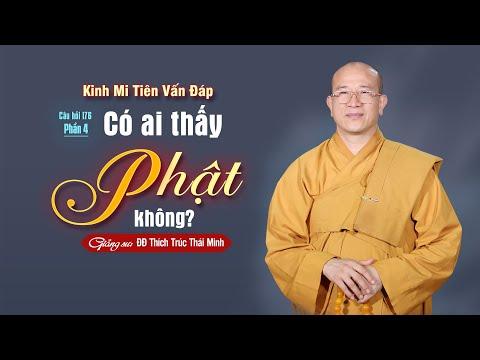 Có Ai Thấy Phật Không? (Phần 4) | Kinh Mi Tiên Vấn Đáp Câu 176 | Thầy Thích Trúc Thái Minh