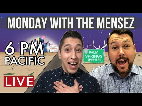 🗓 Monday with The Mensez  🎰  Slot Play from San Manuel