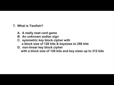 Free Security + Certification Practice Test/Quiz - YouTube