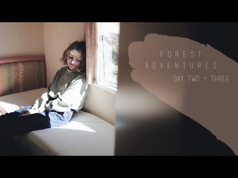 Vlog 3 / Day two and three in the cabin / cooking / exciting paths
