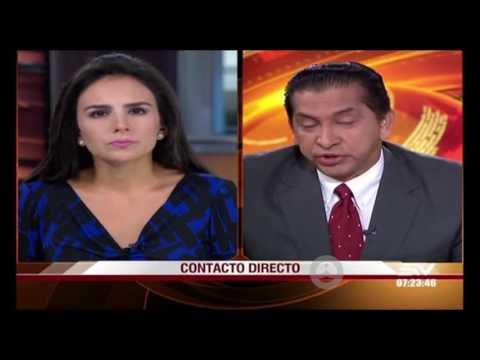 Lucio Gutiérrez evade responder sobre pensionistas. (24 Mayo 2016)